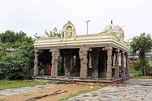 Jalantheeswarar Temple - The gopuram of the temple