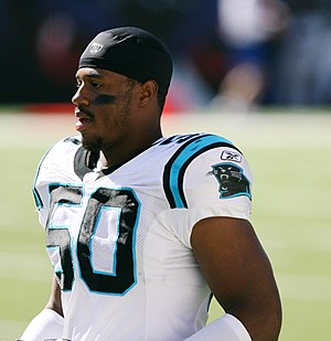James Anderson (American football) - Anderson with Panthers in 2006