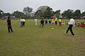 Jamshid Nassiri - Ranjan Chowdhury - Syed Nayeemuddin - Showing Skills - Football Workshop - Sagar Sangha Stadium - Baruipur - South 24 Parganas 2016-02-14 1197.JPG