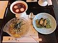 Japanese cuisine, shiruko, tokoroten, isobe-maki (22035301152).jpg