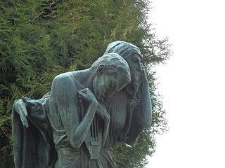 Sousoší Tvůrce a jeho sestra Bolest