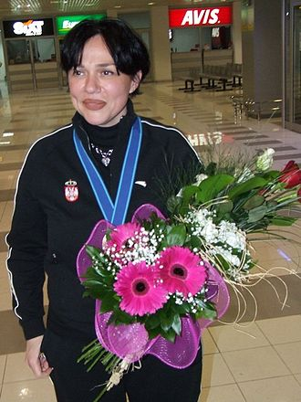 Awards of Olympic Committee of Serbia - Jasna Šekarić holds the record for most wins with six awards