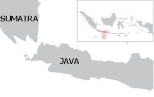 Sunda Strait campaign of January 1794 - Image: Java and Sumatra