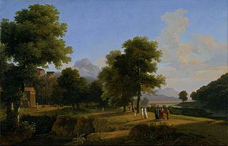 Landscape, Site of Greece (Paysage, Site de la Grèce)