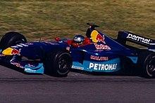 Alesi al Gran Premio del Canada 1999.