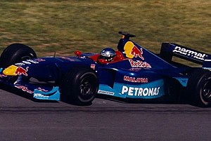 Jean Alesi - Alesi driving for Sauber at the 1999 Canadian Grand Prix.