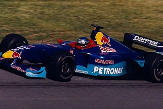 Sauber - Jean Alesi driving for Sauber at the 1999 Canadian Grand Prix.