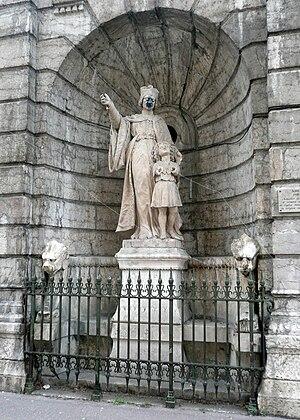 Jean Gerson -  Statue of Jean Gerson in Lyon