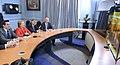 Jefa de Estado se comunica con el Canciller y equipo jurídico ante Corte de La Haya (17369533912).jpg