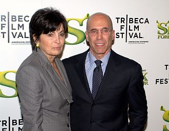 Jeffrey Katzenberg - Marilyn and Jeffrey Katzenberg in 2010.