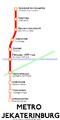 Jekaterinburg Metro Map.png