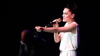 Jessie J - Jessie J performing at The Sony Awards in 2012