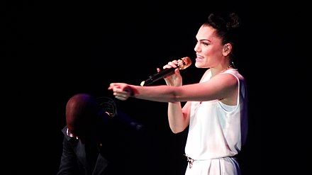 Jessie J performing at The Sony Awards in 2012 Jessie-J-on-SonyAwards.jpg