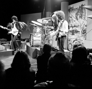 Power trio - The Jimi Hendrix Experience