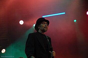 Joaquin Sabina in concert