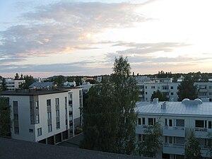 Joensuu from rooftop.