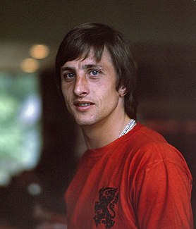 Johan Cruyff Dutch association football player, then coach