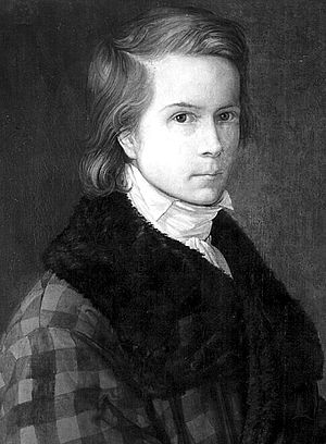Johann Karl Bähr - Self-portrait (1820)