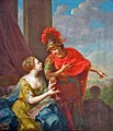 Johann Heinrich Tischbein - Ariadne Helping Theseus by Giving him a Ball of Thread, 1779.jpg