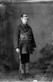 Johannes Pettersen, Red soldier in the Finnish Civil War (1918).png