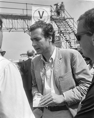 John Frankenheimer - Frankenheimer on the set of Grand Prix