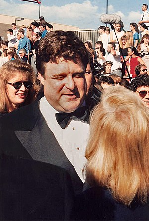 John Goodman on the red carpet at the Emmys