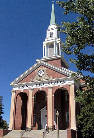Georgetown College - John L. Hill Chapel