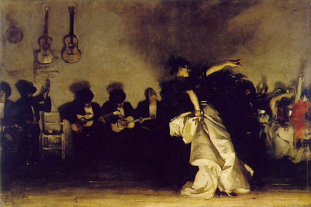 From commons.wikimedia.org: John Singer Sargent - El Jaleo 1882 {MID-226046}
