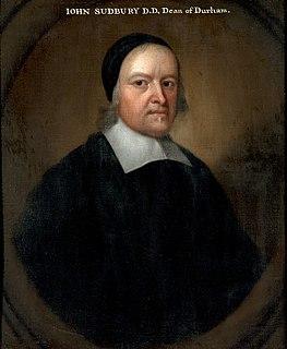 John Sudbury British priest