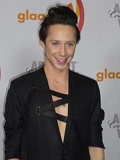 Johnny Weir American figure skater and television commentator
