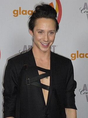 Johnny Weir - Weir at the 2010 GLAAD Media Awards