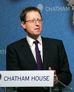Jonathan Freedland - Freedland at Chatham House in 2013
