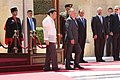 Jordan's King Abdullah II and Philippine President Rodrigo Duterte 05.jpg