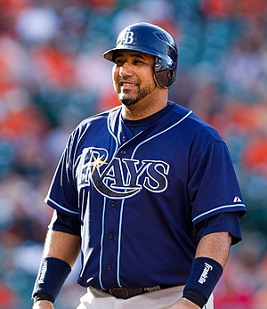 José Molina (baseball) - Molina with the Tampa Bay Rays