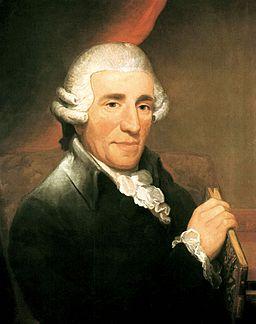 Joseph Haydn, målning av Thomas Hardy från 1792