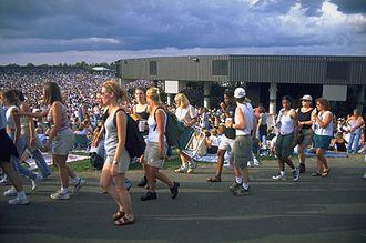 Lilith Fair - The main stage, September 22, 1998, Tweeter Center, Mansfield, Massachusetts.