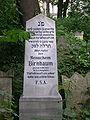 Juedischer Friedhof Waehring - Neuer Grabstein.jpg