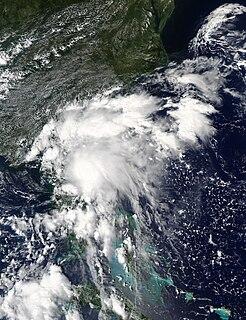 Tropical Storm Julia (2016) Atlantic tropical storm in 2016