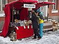Julmarknad på Gamla Stortorget 2014 skärgårdsbröd.JPG