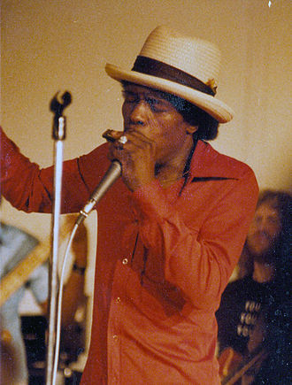 Junior Wells - Wells in Urbana, Illinois, 1983
