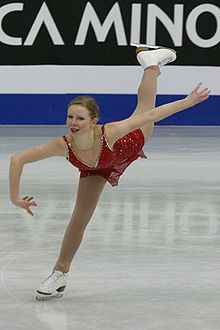 Junior World Championships 2008 Rachael FLATT SP.jpg