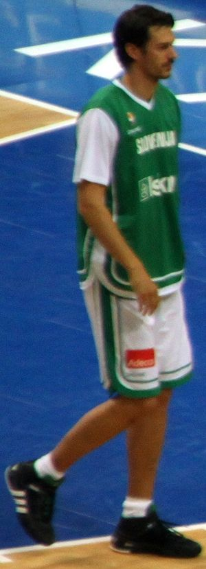 Jurica Golemac - Golemac playing with Slovenian NT.