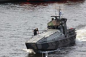 Jurmo-class landing craft - Image: Jurmo U608 Kotka 2013 3