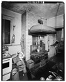 KITCHEN RANGE - Wilderstein, Morton Road, Rhinebeck, Dutchess County, NY HABS NY,14-RHINB.V,4-29.tif