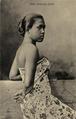 KITLV - 1402449 - Kleingrothe, C.J. - Medan - Java kampong attire - 1905-1911.tif