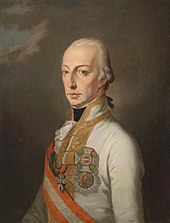 Francis I in a Field Marshal's uniform, decorated with the Order of the House of Austria, c.1820 (Source: Wikimedia)