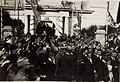 Kaiser Karl I. und Kaiserin Zita in Feldkirch, in der Stella Matutina, am 5. Juni 1917. Karl bereiste vom 1. Juni 1917 bis zum 6. Juni 1917 die Isonzofront, Istrien, Kärnten und Vorarlberg (BildID 15565422).jpg