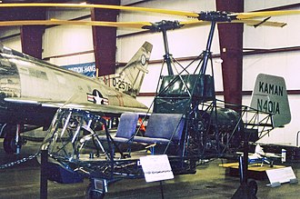 Kaman K-225 - The fifth K-225 to be built displayed at the New England Air Museum, Windsor Locks, Connecticut, in June 2005