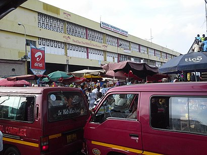 How to get to Kaneshie Market with public transit - About the place