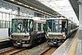 Kansai Airport Rapid Service at Rinku-town Station.jpg